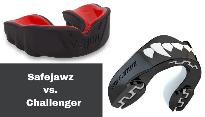 Safejawz Mouthguard vs Challenger